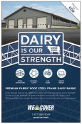 DAIRY IS OUR STRENGTH at We Cover Structures