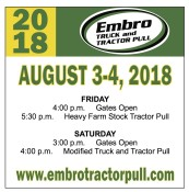 2018 Embro TRUCK and TRACTOR PULL