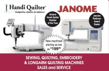 Handi Quilter: Designed by a Quilter, for Quilters.